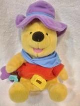 """Disney Winnie the Pooh Plush Ride'em Cowboy by Star Bean 8"""" - $10.62"""