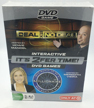 Deal Or No Deal & Who Wants To Be A Millionaire 2 For 1 Interactive DVD Game NEW - $20.56