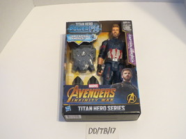 "Captain America Titan Hero Series 12"" Action Figure Power FX Unit Hasbro... - $29.99"