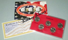 2002 Denver Mint Edition State Quarter Collection - TN, LA, IN, OH, MS - $12.55