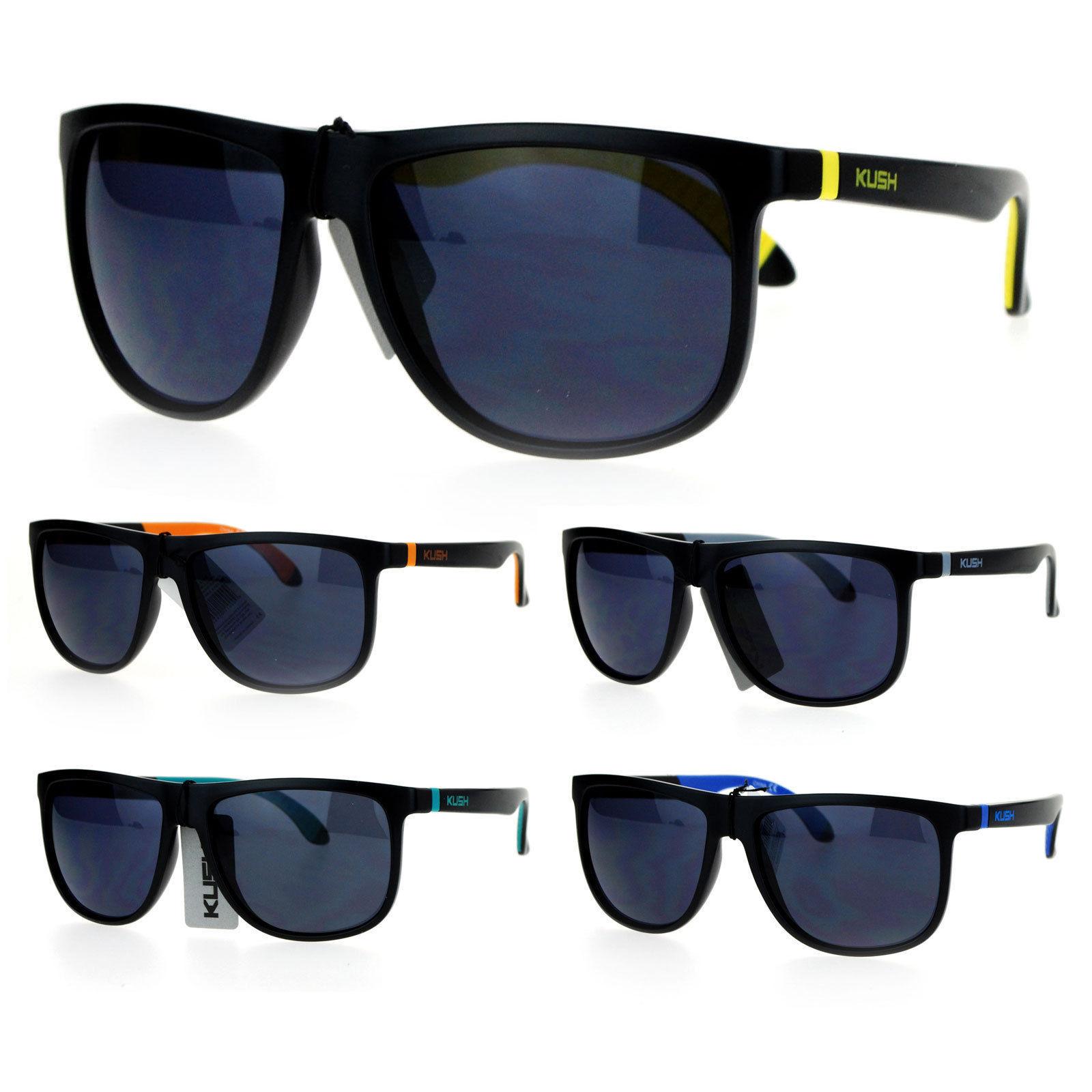 da7c28c5d8 S l1600. S l1600. Kush Matte Soft Rubber Arm Thin Plastic Horn Rim Mens  Sunglasses · Kush Matte ...