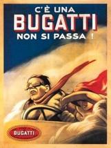 Bugatti Vintage Coche Clásico Taller Garaje Motorsport Calidad Imán Nevera - $3.34