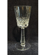 GALWAY CUT CRYSTAL - CLIFDEN Pattern - RED WINE GOBLET - $19.95