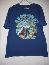 Blue Size M (38 / 40) Castaway Shipwreck Saloon Tee T-Shirt 100% cotton - $9.89