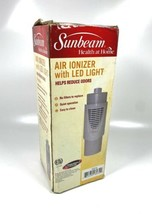 Sunbeam Air Ionizer with LED Light SZ516 - $18.80