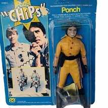 Ponch Mego Chips action figure toy 1977 vtg moc unpunched card cop patro... - $247.50