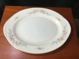 "Georgian Eggshell Nautilus Cashmere Platter 13.5"" X 10.5"" Homer Laughlin - $17.82"