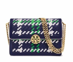 New Tory Burch Duet Chain Woven Convertible Shoulder Bag - $432.00