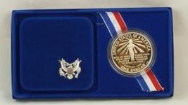 1986-S Statue of Liberty Commemorative Silver Proof Dollar w/Original Bo... - $24.01