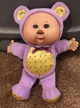 "Cabbage Patch Kids 9"" Cuties Purple Bear Thumbsucker Green Eyes EUC - $10.00"