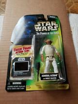 "Star Wars: Admiral Ackbar (Freeze Frame) POTF 3.75"" Action Figure 1997 ROTJ - $14.85"