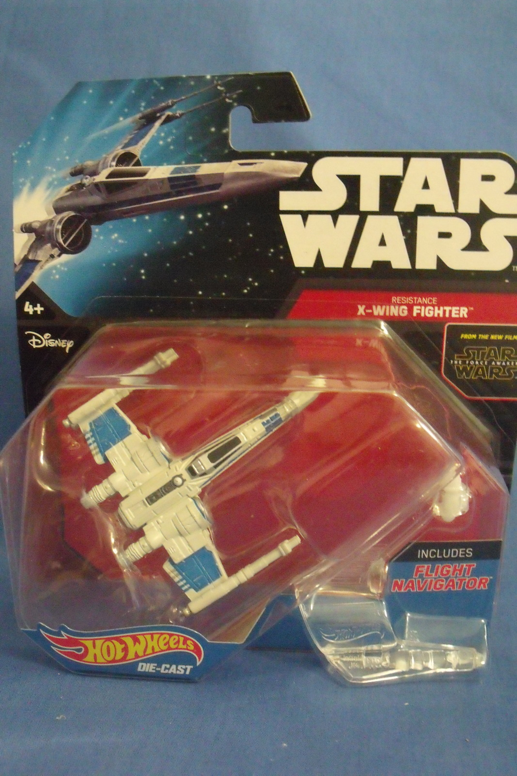 Primary image for Toys Mattel NIB Hot Wheels Disney Star Wars Resistance X Wing Fighter