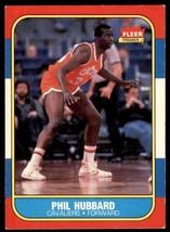 1986-87 Fleer Basketball Premier Phil Hubbard Cleveland Cavaliers #48 - $0.50