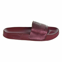 Puma Leadcat Leather Cordovan Womens Sandal Slides 365693 02 - $29.95