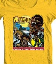 Werewolf by Night T Shirt classic 1970s marvels Legion of Monsters graphic tee image 2