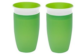 Munchkin Miracle 360 Sippy Cup, Green, 10 Ounce, 2 Count - $21.97