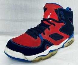 Nike 2012 Air Jordan Flight Club 91 XX Red Black blue Shoe Sz 7Y - $38.96