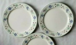 "Lot of 2 Oneida Ava China Dinner Plates Flowers Floral 10.75"" - $20.78"