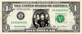 ALL AMERICAN REJECTS on REAL Dollar Bill Cash Money Bank Note Currency D... - $8.88