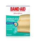 Band-Aid Brand Skin-Flex Adhesive Bandages, Extra Large, 7 Count Per Box... - $14.25