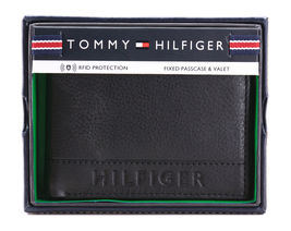 Tommy Hilfiger Men's Leather RFID Fixed Passcase Wallet Billfold 31TL220084 image 12