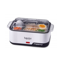 Presto Power Bento Electric Cooker 1 -2 Serving Divided Section Food Warmer - $74.14