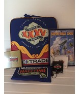 Superbowl xxxv 2001 Seat Lot Souvenir Program Football  - $41.71