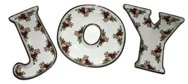 """Set of 3 """"Joy"""" Candy Dishes Old Country Roses by ROYAL ALBERT NEW IN THE... - $59.39"""