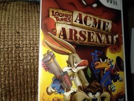 Nintendo Wii  Looney Tunes: Acme Arsenal image 1