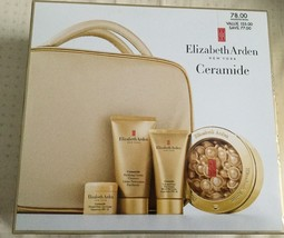 Elizabeth Arden Ceramide Plump Perfect Ultra Lift 5 Piece Gift Set with Clutch - $67.19