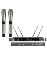 Pro UR24D Digital Wireless DJ Karaoke KSM8 Microphone System True Divers... - $343.66+