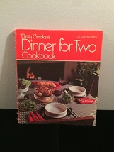 Vintage 1972 Betty Crocker's Dinner for Two Cookbook- hardcover