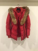 Mackage Women's Pink Down Coat Adali Lavish Fur Trim Hood Size XXS image 3