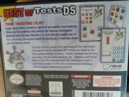 Nintendo DS Best Of Tests DS image 2