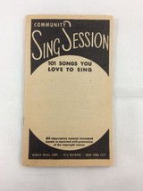 Vintage 1930's RCS Music - Community Sing Session Song Book For Sing Alongs - $9.99