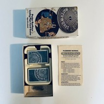 Vintage 1972 WATERWORKS Parker Brothers Leaky Pipe Card Game 100% Complete - $12.19