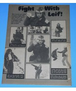 Leif Garrett Tiger Beat Super Special Magazine Photo Clipping Vintage 1977 - $9.99