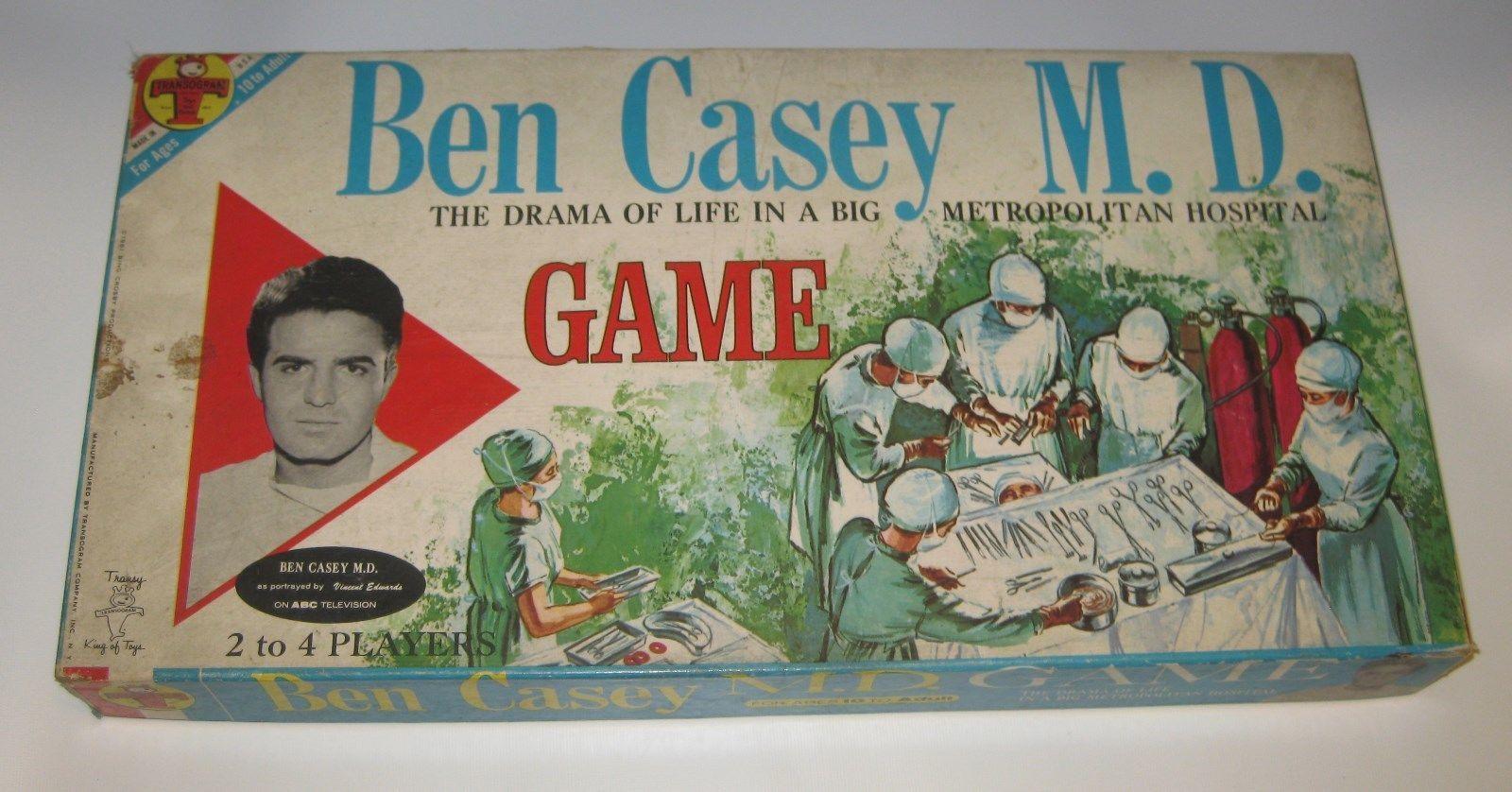 Transogram 3828-198 -- 1961 Ben Casey M.D. - Drama of Life in Big Metro Hospital