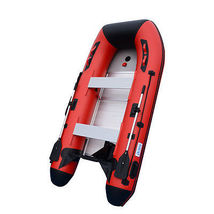 BRIS 10ft Inflatable Boat Inflatable Dinghy Yacht Tender Fishing Pontoon Boats image 5