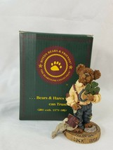 "Boyds #227743 - ""Chance O'Sullivan...Feelin' Lucky"" Bearstone Figure PCF... - $6.50"