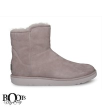 UGG ABREE MINI FEATHER SUEDE/SHEEPSKIN WOMEN`S BOOTS SIZE US 9/UK 7.5/EU... - $2.100,40 MXN