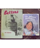Buttons (stray cat story) and an eskimo birthday by Tom Robinson - $5.00