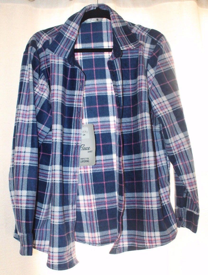 b6d57960054 New Womens Xl Lee Riders Soft Fleece Blue and 22 similar items. 57