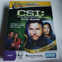 NWT CSI DVD Game  Interactive Multiplayer for TV - $14.95