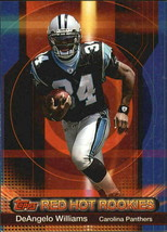 2006 Topps Red Hot Rookies #11 DeAngelo Williams - FREE SHIPPING - $6.92