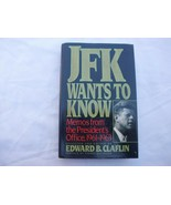 JFK Wants to Know: Memos from the President's Office, 1961-1963 John F K... - $4.49