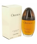 Perfume OBSESSION by Calvin Klein 3.4 oz Eau De Parfum Spray 3.4 oz for ... - $30.39
