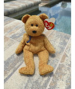 TY Beanie Baby Babies Fuzz the Bear Retired Collectible 1998 - $3.50