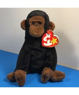 1996 BEANIE BABIES VINTAGE PLUSH STUFFED ANIMAL RETIRED TY TAG CONGO MON... - $19.75