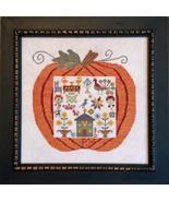 Great Pumpkin Mennonite cross stitch chart Samp... - $14.40